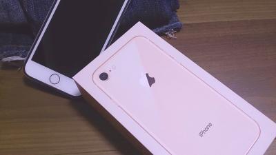 iPhone 8買いました